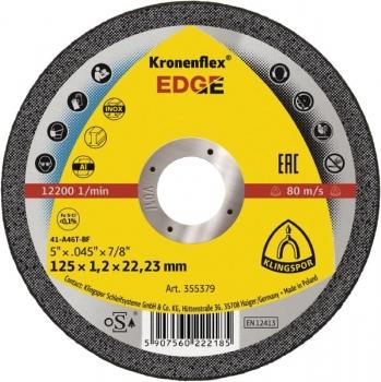 EDGE -Trennscheibe ø 125 x 1,2 x 22,23